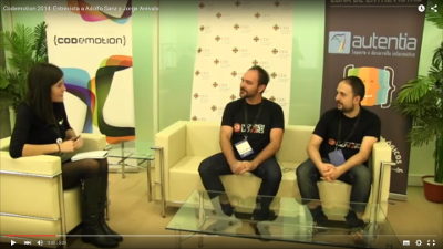 Entrevista en el Codemotion